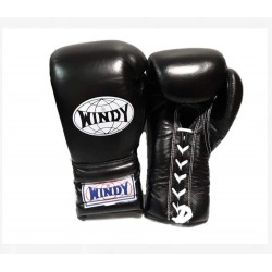 BOXING GLOVES LACE UP WINDY