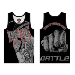Vest born to be muaythai