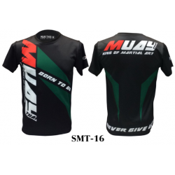 TSHIRT born to be muaythai