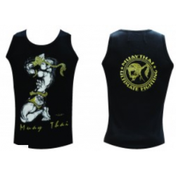 Vest HUMAN FIGHT  100% COTTON